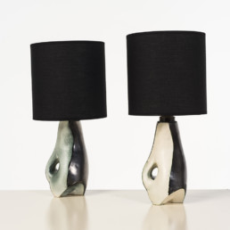 2 Lampes Jacques Blin